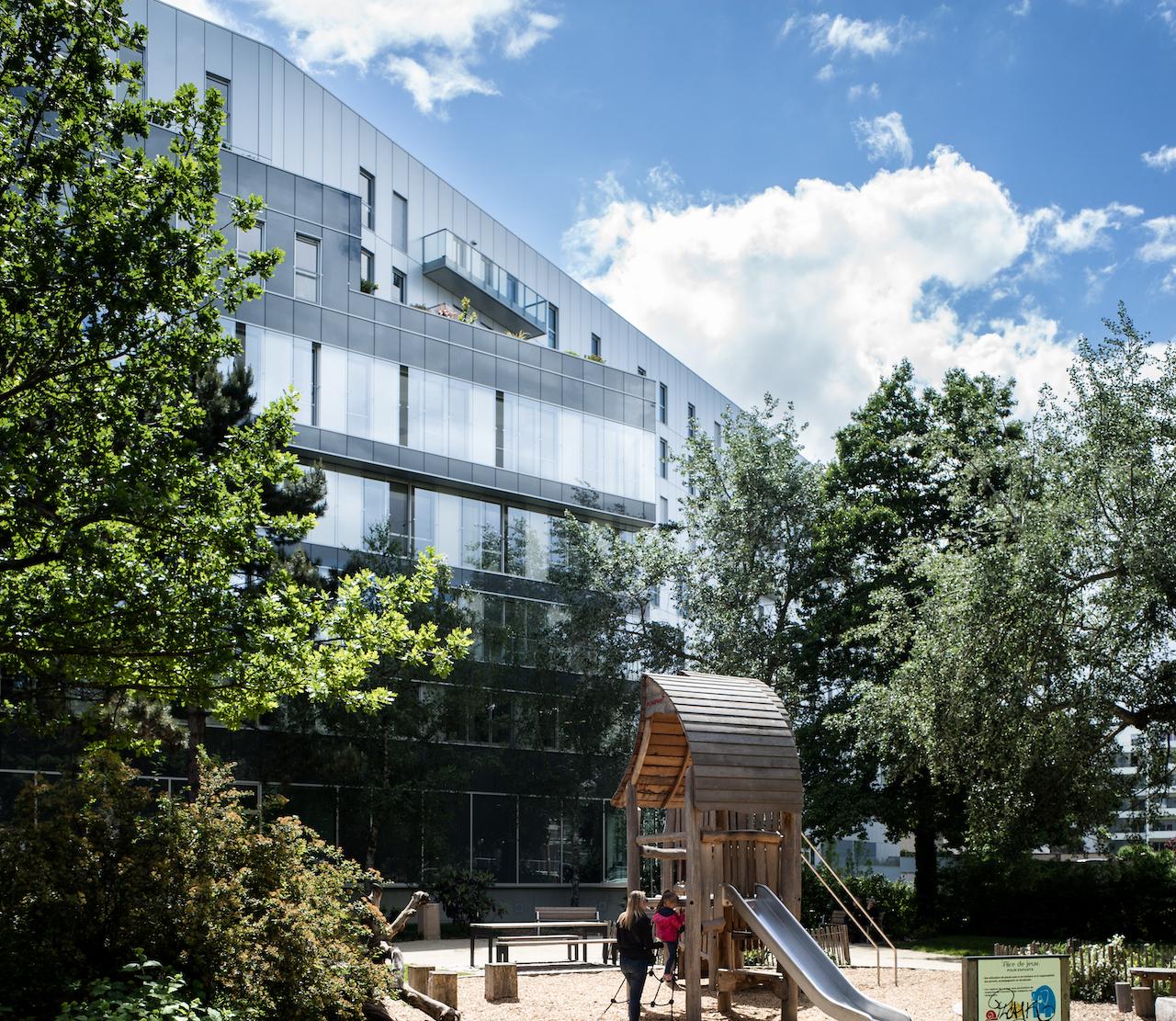 Eurosquare - mixer logements et bureaux