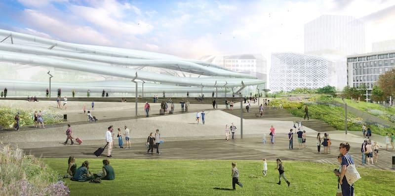 De nouveaux espaces publics accueillants