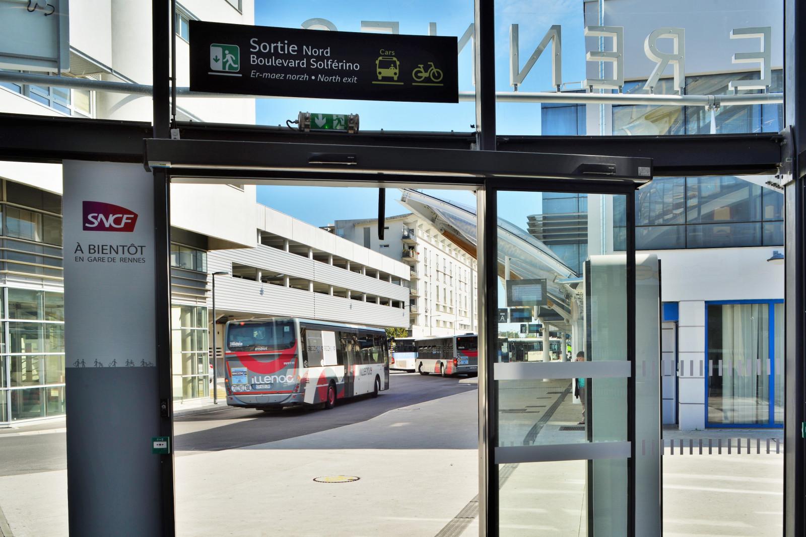 Un accès direct à la gare routière