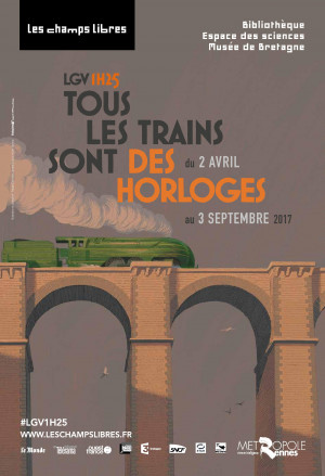 LGV1H25 : tous les trains sont des horloges