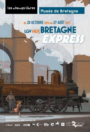 LGV 1H25: prenez le train de l'histoire avec Bretagne Express